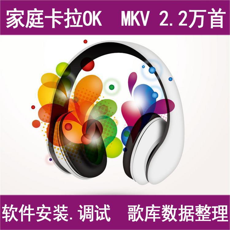 阿蛮歌霸歌库数据整理服务-MKV 2.2万首